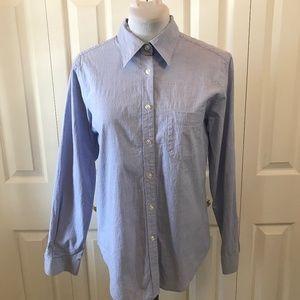 "The Limited Blue ""The Boyfriend"" Button Down Shirt"
